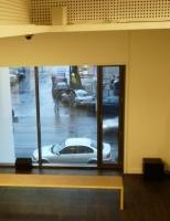 Hegenbart/Straebel: 9-11-1938 window